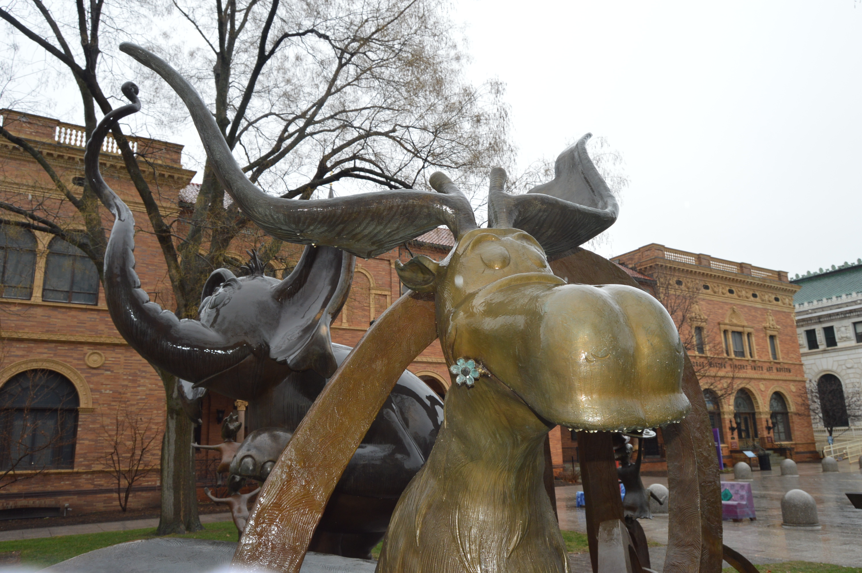 Dr. Seuss National Memorial Sculpture Garden (Springfield, MA) | New ...