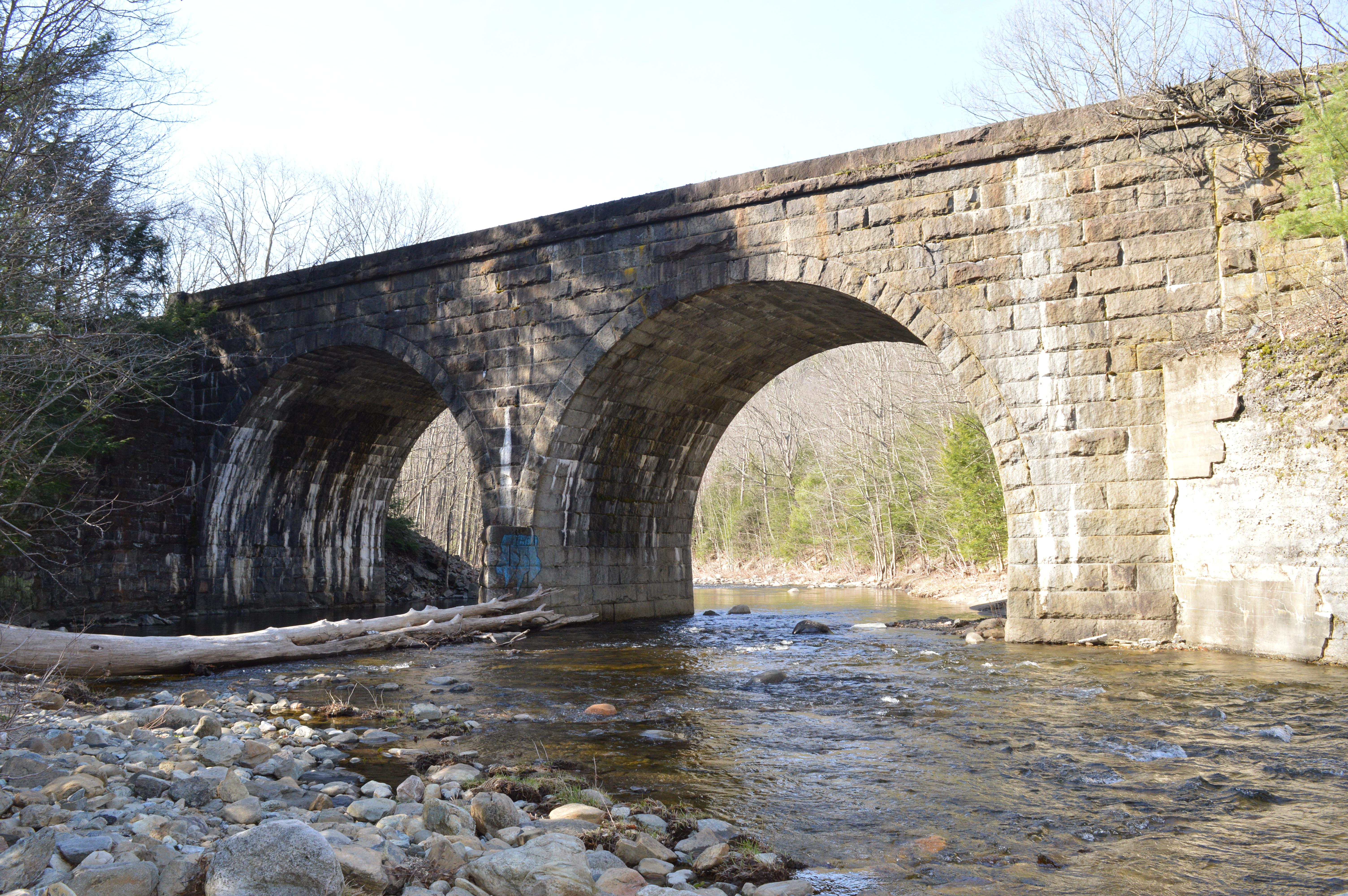 Keystone Arch Bridges Trail Middlefield Ma New