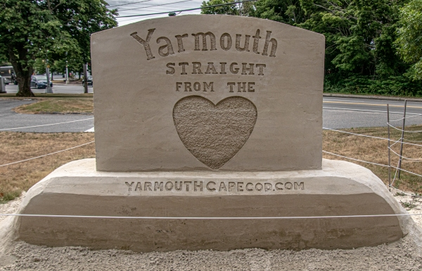 Yarmouth Sand Sculpture Trail 2020 New England Nomad